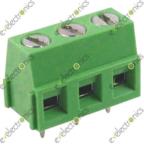 Block Connector Kf128 03p 2 54mm 3pos