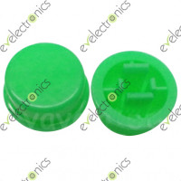 Round Switch CAP For Tact Switches (Green)