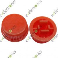 Round Switch CAP For Tact Switches (Red)