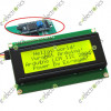 Yellow Display Serial IIC/I2C/TWI 20X4 2004 Character LCD
