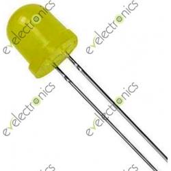 10MM Diffused Green LED 800mcd