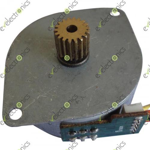 Mitsumi stepper motor m42sp 7 for Stepper motor vs servo