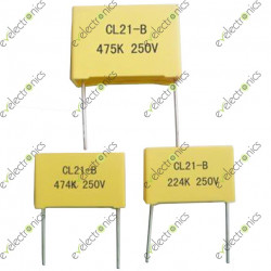 Metallized Polyester Box Capacitors
