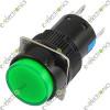 AL6-A 5 Pin Push Lock  With Light Green 3A 250VAC