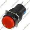 AL6-A 5 Pin Push Lock  With Light Red 3A 250VAC 24V light