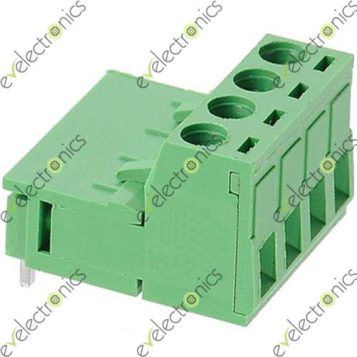 Block Connector 2edgk L Type 4pos 5 08mm 300v 15a