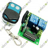 2 Channnel 12VDC Wireless Remote Controller Fixed Encoding Control Switch