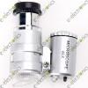 60X Jeweller MINI LED Magnifier Pocket Loupe Microscope