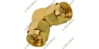 SMA Male To Male Right Angle Connector