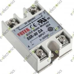 SSR-25 DA Solid State Relay 24-380VAC Fortek
