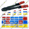 175 Pieces Wire Terminal with Wire Stripper Crimper Tool