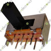6 Pins Big (Double Row) Horizontal Slide Switch 12mm