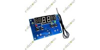 -9-99°C 12V DC Heat Cool Temp Thermostat Temperature Control Switch