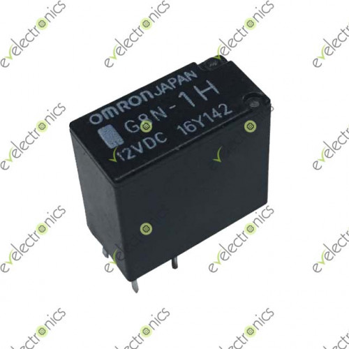12V DC Relay G8N-1H DC12SPDT Omron 5 Pin Omron Pin Relay Wiring on
