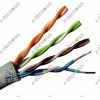 4 Core 2 Pair (AWG 24) Round Voice Data Cable (Per Meter)