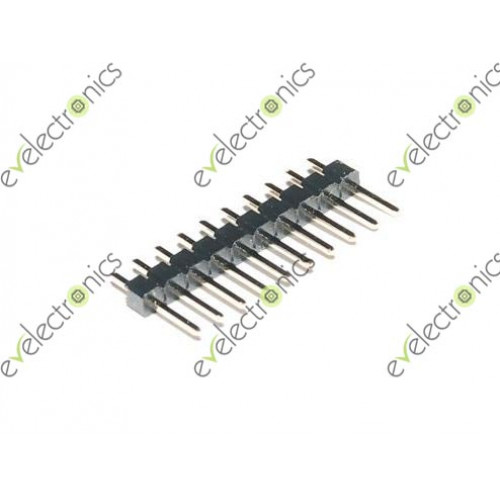40 Pin Single Row Male Header 11mm 2mm Pitch