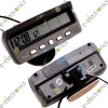 Car Alarm Temperature Thermometer Voltage Monitor Time Clock Backlight LCD