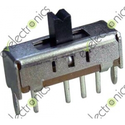 4 Pin 1P3T Vertical Slide Switches (SS-13D01)