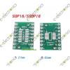 SOP16 SSOP16 TSSOP16 To DIP16 0.65/1.27mm IC Adapter PCB Board