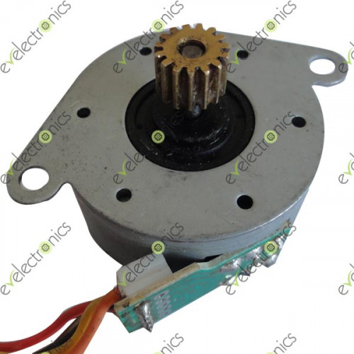 Mototech stepper motor s35s5 for Stepper motor vs servo