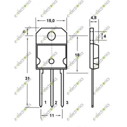 tip35 tip35c npn high power transistor to