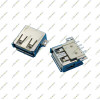 USB Type A Female 4Pin SMT Socket